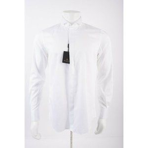 Massimo Dutti Mens Dress Shirt 15.75 EU 40 White